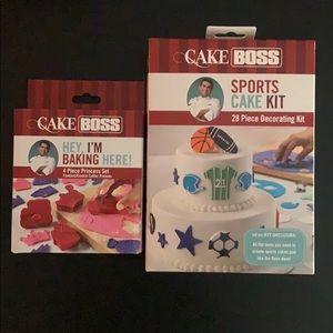 NEW Cake Boss cake/ cookie decorating kits